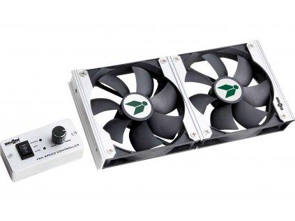 Dvojitý ventilátor pro ledničky Vento NG 120