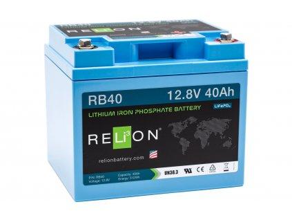 Relion Lithium Batterie RB40 - 40 Ah