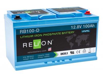 Lithiová baterie Relion RB100-D - 100 Ah