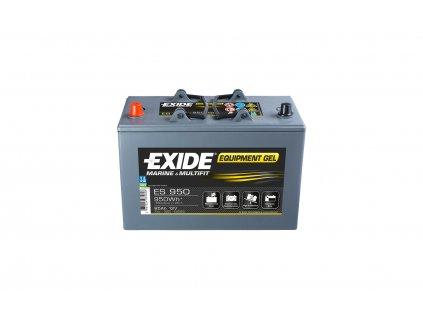 Exide ES 650 Gelová baterie