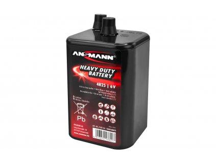Ansmann 9.000 mAh Zink-Kohle Batterie 4R25 6 V