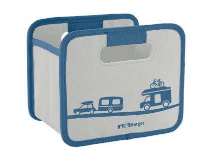 Berger Skládací box Mini šedý