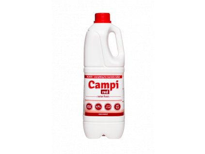 kvapalina pre chemicke toalety campi red