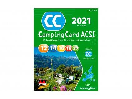 ACSI CampingCard 2021 německá verze