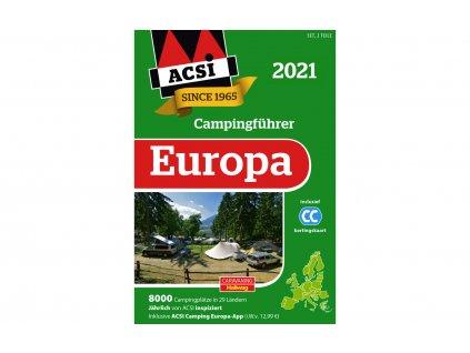 ACSI Campingführer Europa 2021 německá verze