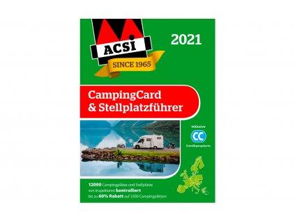 ACSI CampingCard 2021 & Stellplatzführer německá verze