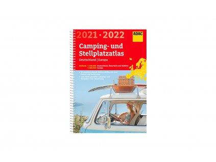 ADAC Kempování a atlas parkování Německo & Evropa 2021 / 2022