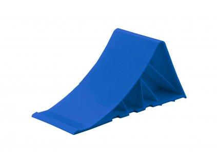 Klín pro zajištění kola - modrý