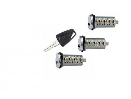 2 STS Klíče Inbahn + 3 vložky