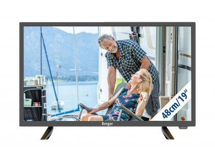 Berger Camping Smart-TV LED Fernseher mit Bluetooth 19 Zoll