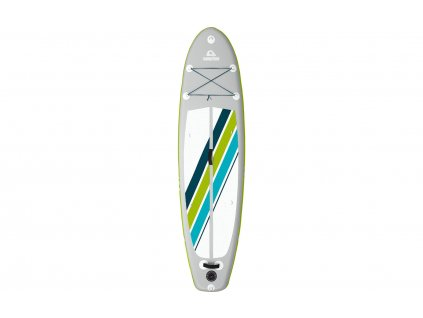 Camptime Corvi 9.4 SUP Set aufblasbares Stand Up Paddling-Board inkl. Paddel und Luftpumpe