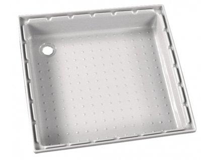 Sprchová vana z ABS, 650x650 mm, bílá