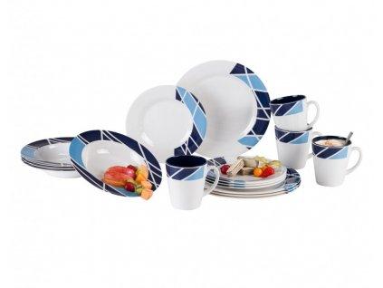 Berger Melamin Portiskluzová sada nádobí 16 kusů