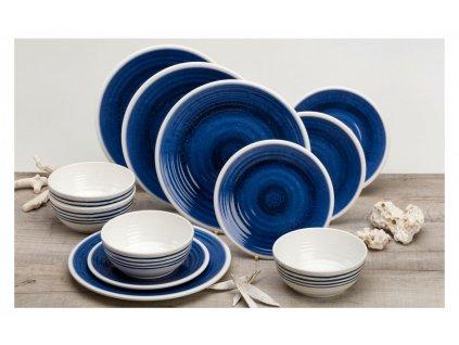 12-dílná sada melaminového nádobí Azur