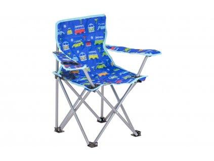 VW Collection T1 Bulli Campingstuhl für Kinder Blau