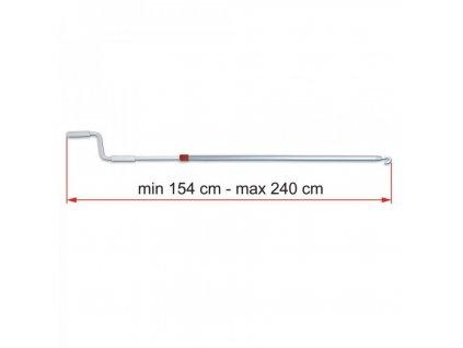 Klika markýzy Fiamma délka 154 - 240 cm