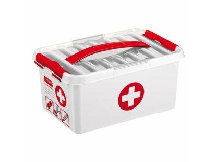 Plastový box na léky Q-line 6l