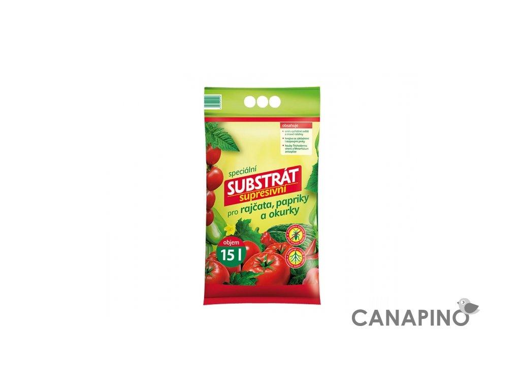 substrat forestina profik supresivní pro rajčata papriky a okurky 15
