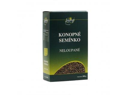 hemp production konopne seminko neloupane 500g front