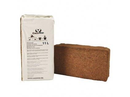 CocoStar Brick 11l, lisovaný kokos 20x10x5,5 cm