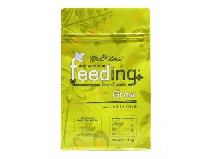 Green House Powder Feeding Grow