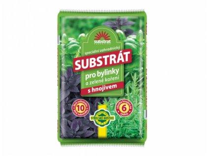 substrat forestina na bylinky a zelené koření