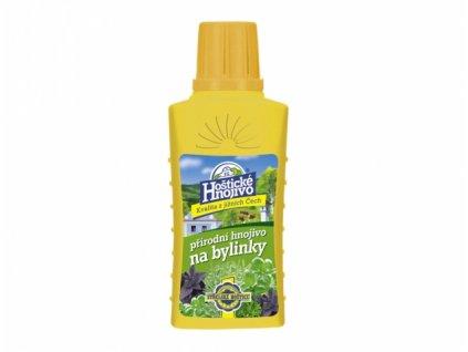 hoštické hnojivo na bylinky