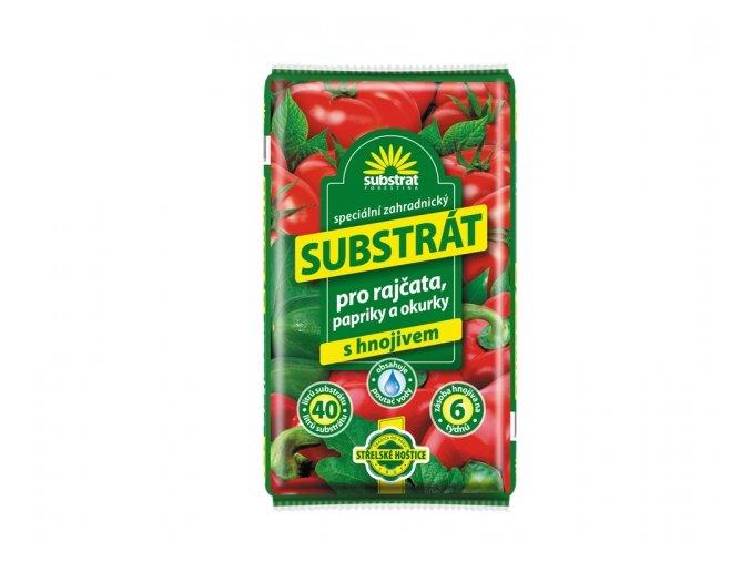 substrat forestina na rajčata, papriky a okurky