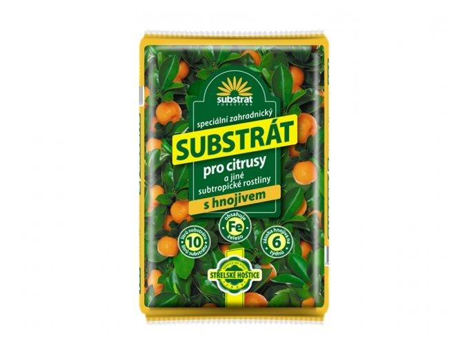 substrat forestina na citrusy a jiné subtropické rostliny