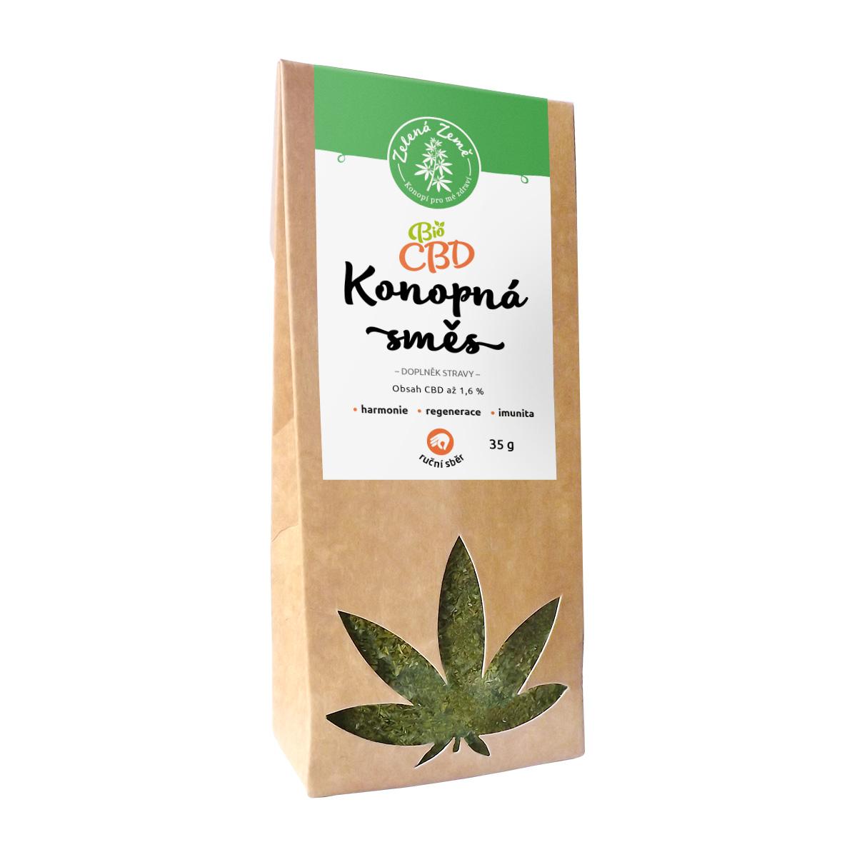 CBD konopná herba 35 g