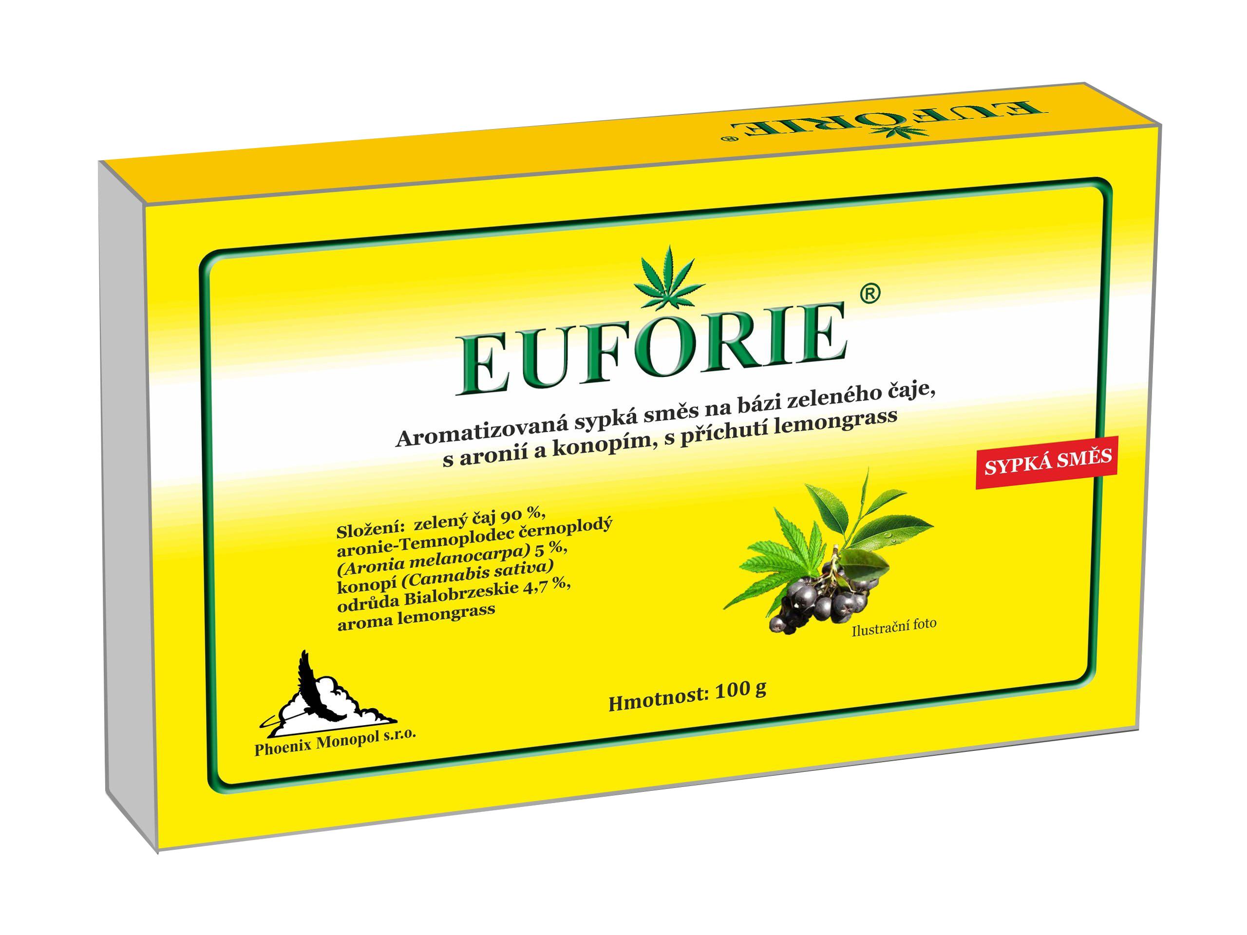 Euforie - čaj s konopím 100 g