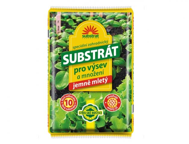 Substrát FORESTINA pro výsev a množení rostlin obsah: 10l