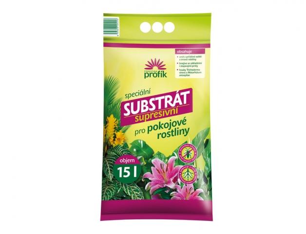 Substrát FORESTINA PROFÍK supresivní pro pokojové rostliny obsah: 15l
