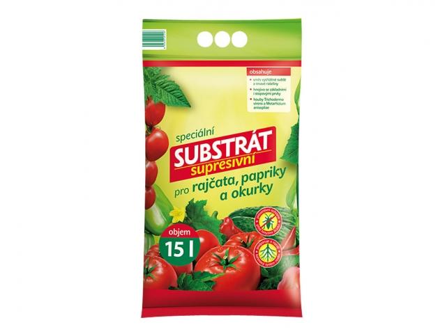 Substrát FORESTINA PROFÍK supresivní pro rajčata, papriky a okurky 15l