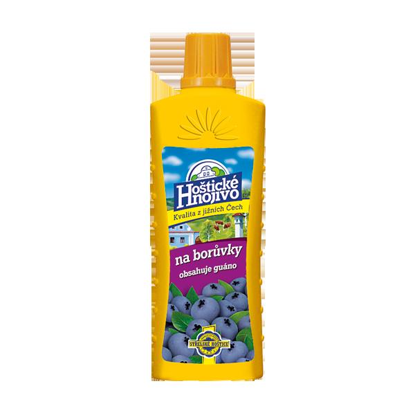 Hnojivo Hoštické na borůvky s guánem 500ml
