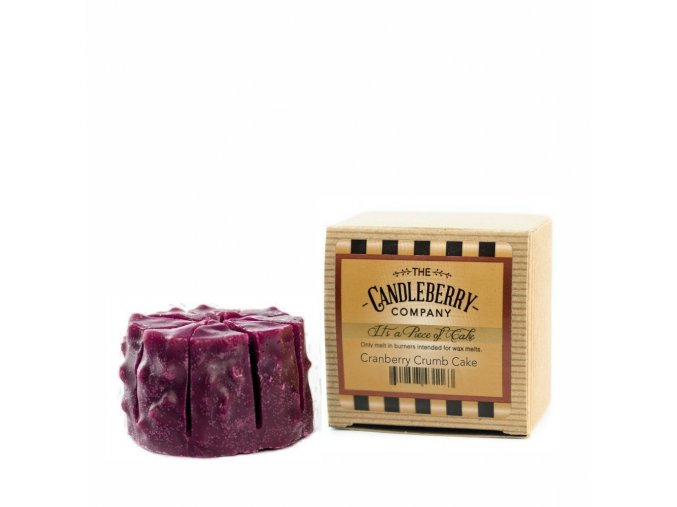 vonny vosk cranberry crumb cake candleberry