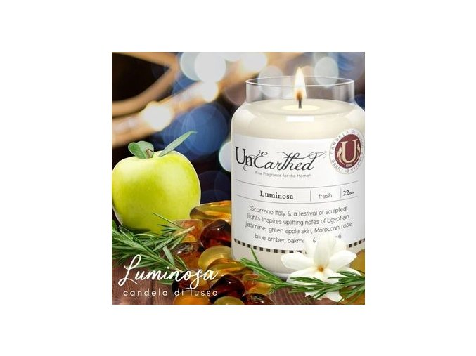 Candleberry Unearthed Luminosa 624g
