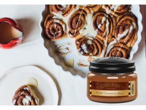 voony vosk fried cinnamon buns candleberry