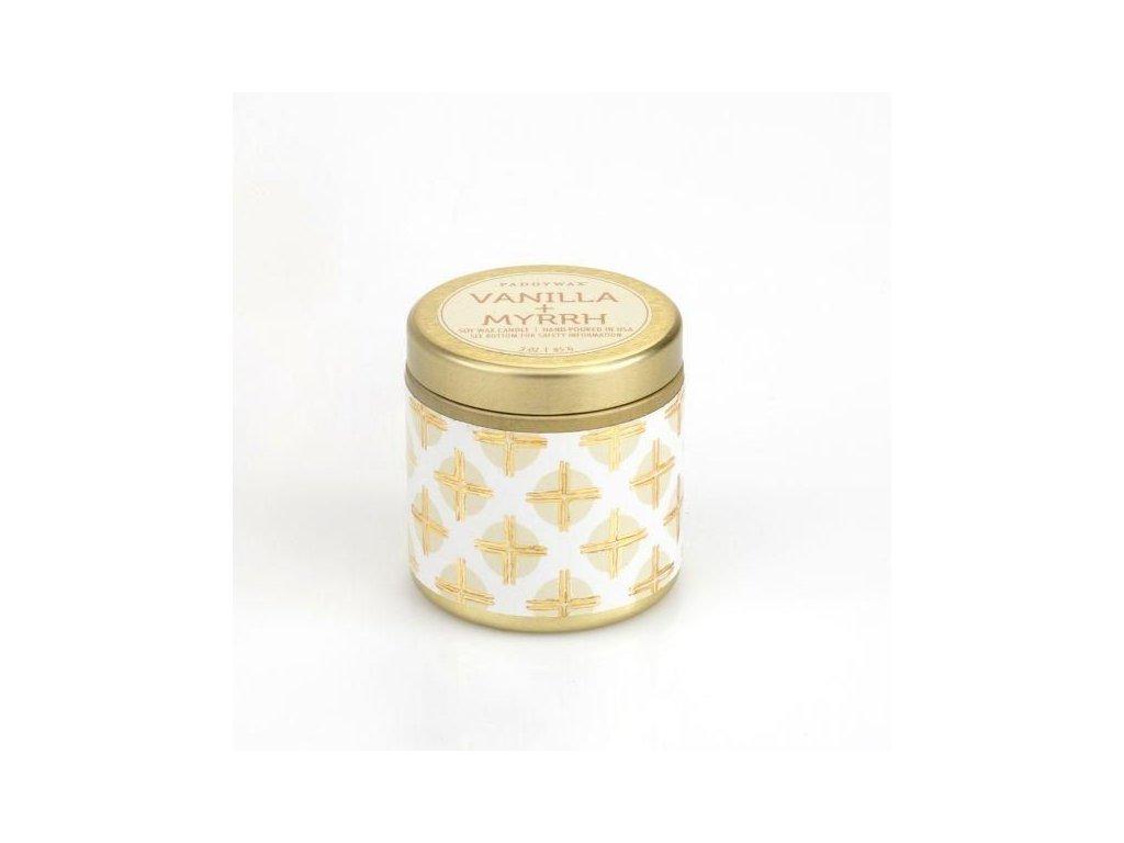 Paddywax - vonná svíčka Kaleidoscope VANILLA + MYRRH (Vanilka a myrha) 85 g
