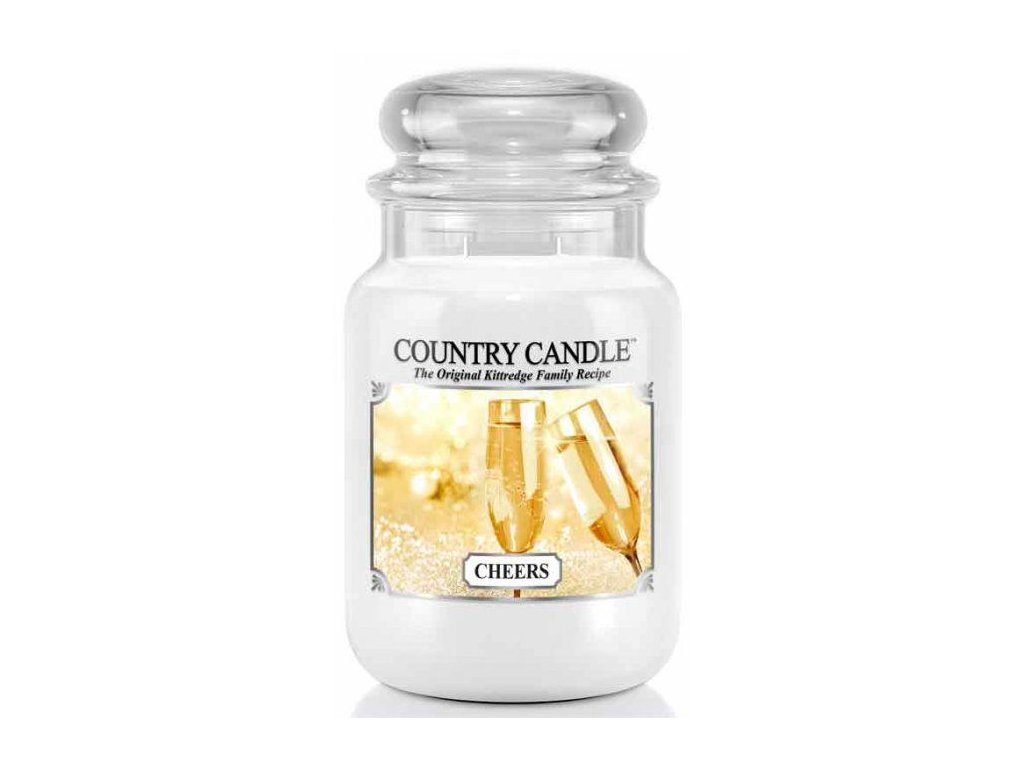 Country Candle - vonná svíčka CHEERS (Na zdraví) 652 g