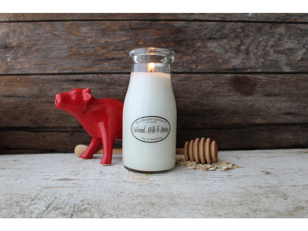 MK Oatmeal milk and honey