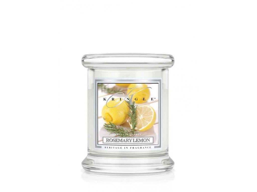 Kringle Candle - vonná svíčka ROSEMARY LEMON (Rozmarýn a citron) 127g
