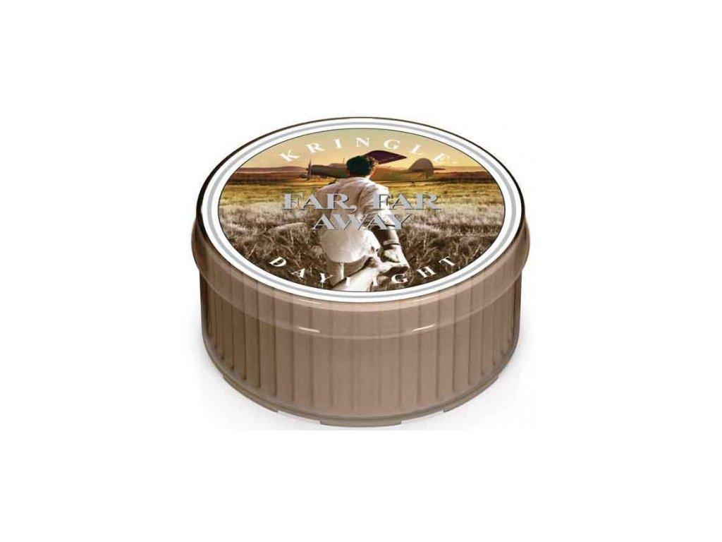 Kringle Candle - votivní svíčka FAR, FAR AWAY (Daleko, daleko) 42 g