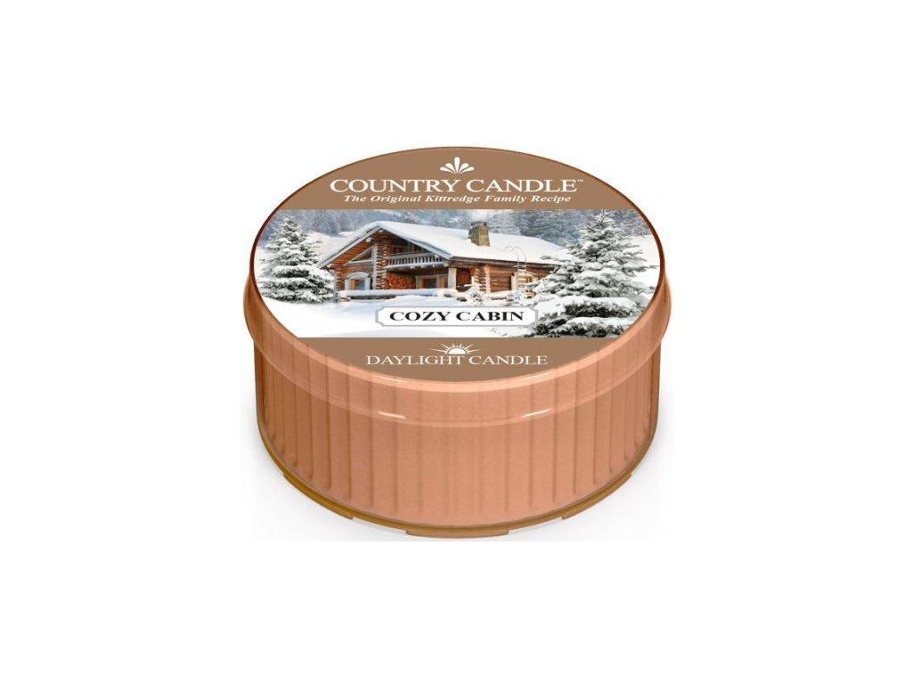 Country Candle - votivní svíčka COZY CABIN (Útulná chata) 42 g