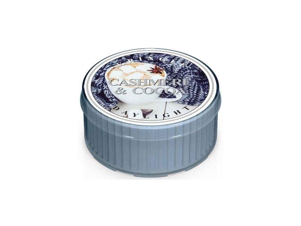 Kringle Candle - votivní svíčka CASHMERE & COCOA (Kašmír a kakao) 42 g