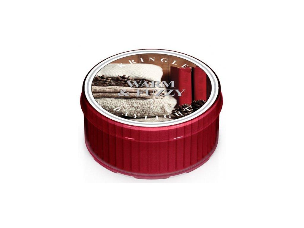Kringle Candle - votivní svíčka WARM & FUZZY (Hřejivý a huňatý) 42 g
