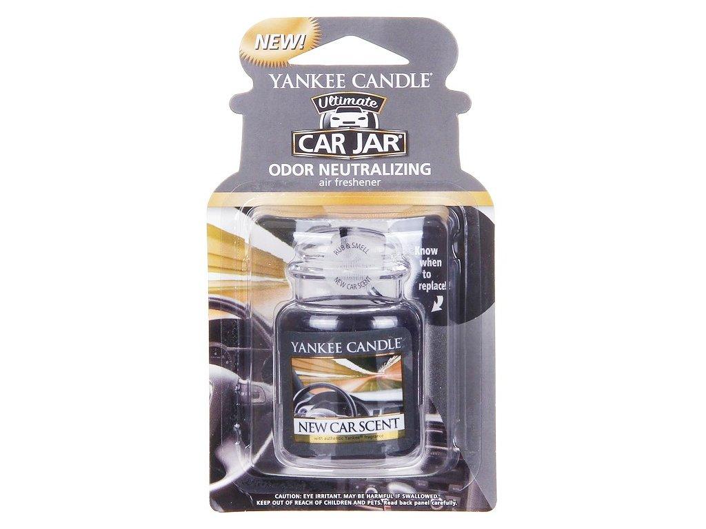 Yankee Candle - gelová visačka NEW CAR SCENT (Vůně nového auta)