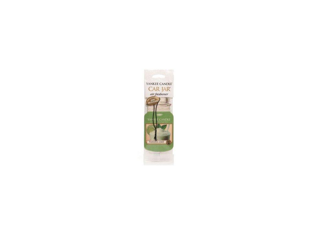 Yankee Candle - papírová visačka VANILLA LIME (Vanilka s limetou)