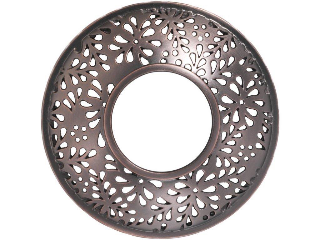 Yankee Candle - ozdobný prstenec na svíčku SHERIDAN BRONZE METAL
