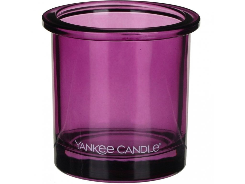 yankee candle pop tea light votive holder violet p15847 29178 image